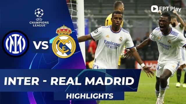 Video Highlight Inter Milan - Real Madrid