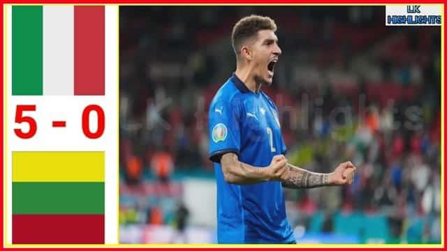 Video Highlight Italia - Lithuania