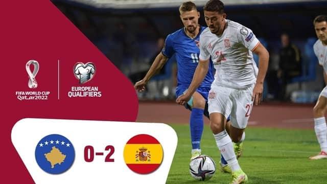 Video Highlight Kosovo - Tây Ban Nha