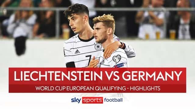 Video Highlight Liechtenstein - Đức