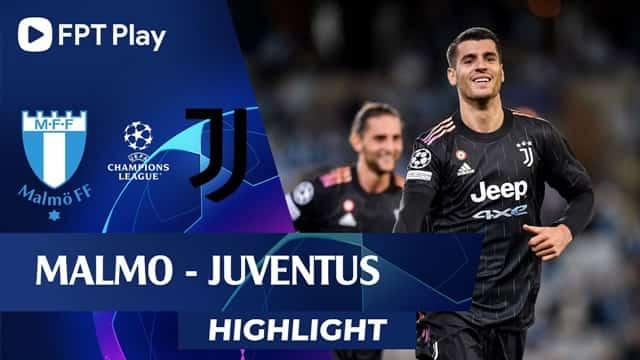 Video Highlight Malmo - Juventus