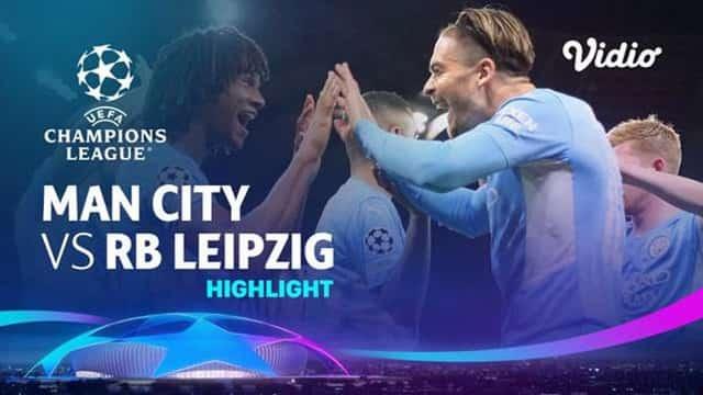 Video Highlight Man City - RB Leipzig