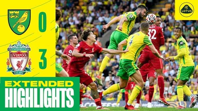Video Highlight Norwich - Liverpool