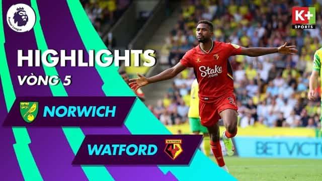Video Highlight Norwich - Watford