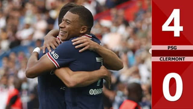 Video Highlight PSG - Clermont