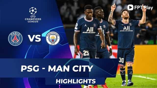 Video Highlight PSG - Man City