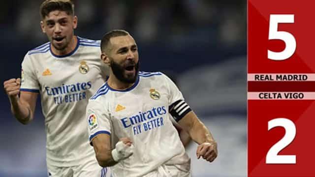 Video Highlight Real Madrid - Celta Vigo