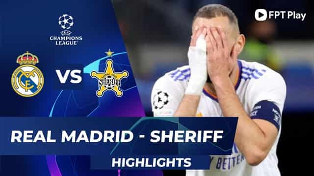 Video Highlight Real Madrid - Sheriff