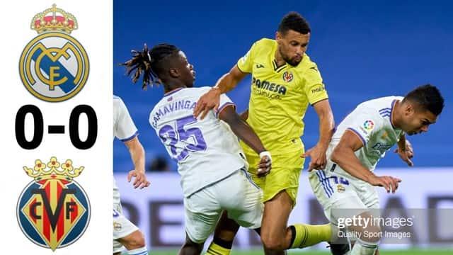 Video Highlight Real Madrid - Villarreal