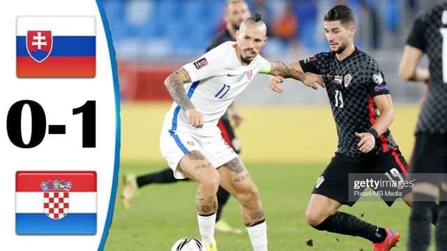 Video Highlight Slovakia - Croatia