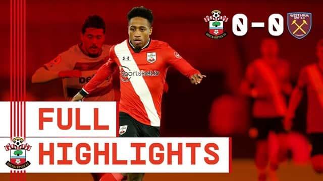 Video Highlight Southampton - West Ham