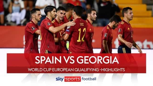 Video Highlight Tây Ban Nha - Georgia