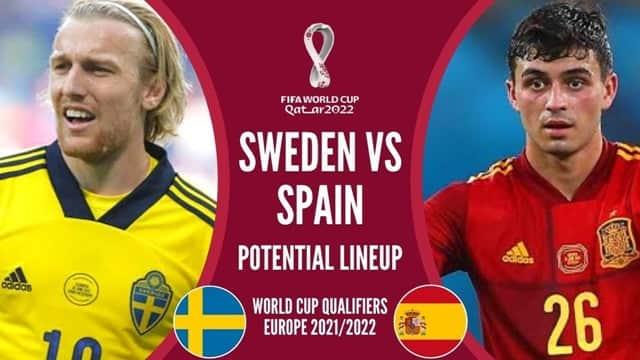 Video Highlight Thụy Điển - Tây Ban Nha