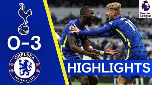 Video Highlight Tottenham - Chelsea