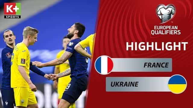 Video Highlight Ukraine - Pháp