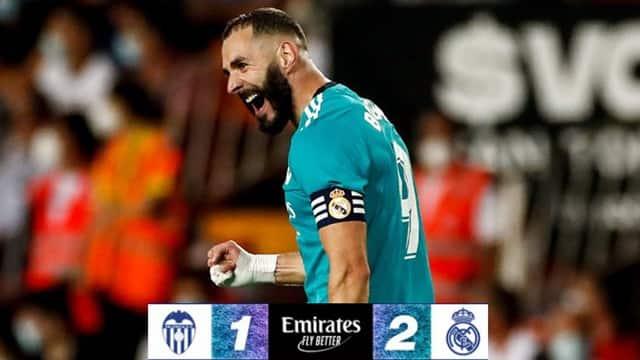 Video Highlight Valencia - Real Madrid