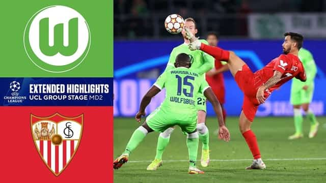 Video Highlight Wolfsburg - Sevilla