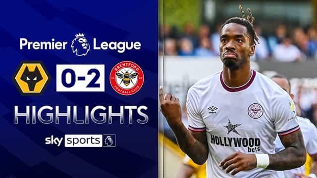 Video Highlight Wolverhampton - Brentford