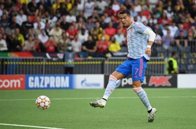 Ronaldo sớm mở tỷ số cho MU