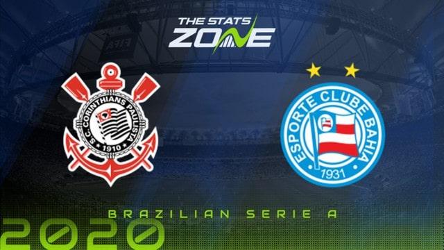 Corinthians vs Bahia, 07h30 - 06/10/2021 - VĐQG Brazil