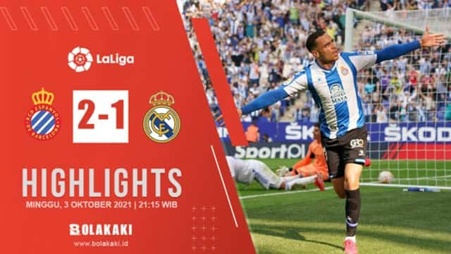 Video Highlight Espanyol - Real Madrid