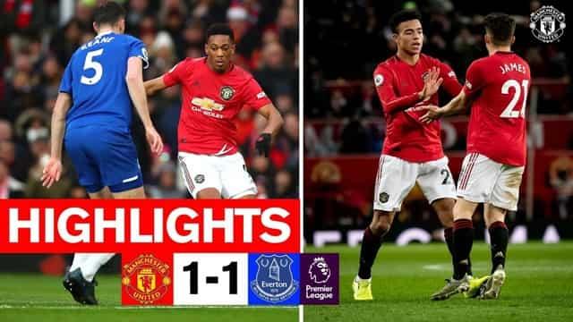 Video Highlight MU - Everton