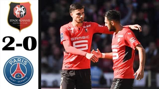 Video Highlight Rennes - PSG