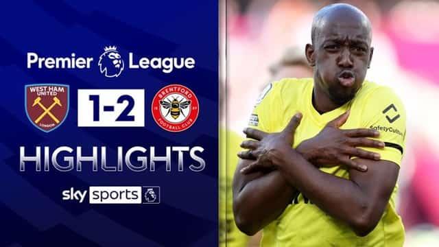 Video Highlight West Ham - Brentford